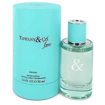 Tiffany & Love Eau De Parfum Spray By Tiffany 1.6 oz Eau De Parfum Spray