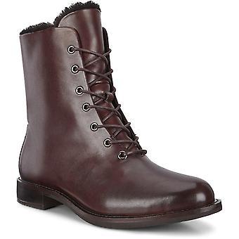 Ecco sartorelle 25 bison boots womens brown