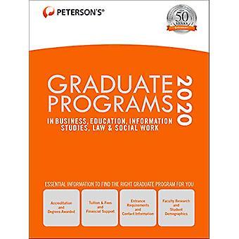 Graduate Programs in Business - Education - Information Studies - Law