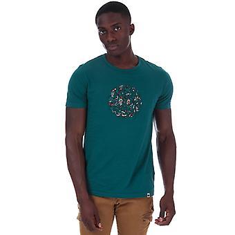 Miesten's Pretty Green Yövarjo Applique T-paita Turkoosi