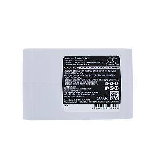 Battery for Dyson Vacuum 202932-02 Type-B DC31 DC34 DC35 DC56 DC57 White 1500mAh