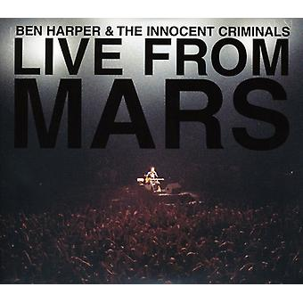 Ben Harper - Live From Mars [CD] USA import