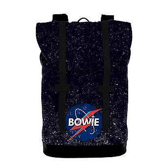 David Bowie Heritage Bag Space Logo new Official Rocksax Black