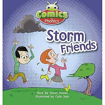 Comics for Phonics Storm Friends Lilac (BUG CLUB)