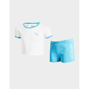 New Mckenzie Girls' T-Shirt/Shorts Set Blue