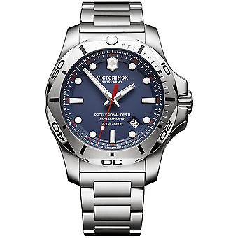 Victorinox Stainless Steel Quartz Analog Men Watch with Stainless Steel Bracelet V241782