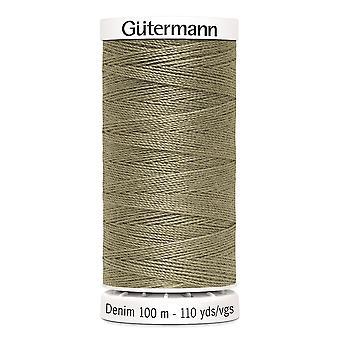 Gutermann Denim 100m No.50 Polyesteri kierre käsi ja kone - väri 2725