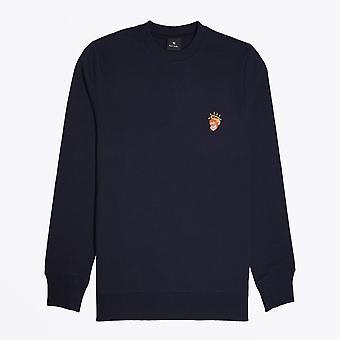 PS بول سميث -- & apos الملاك القرد و apos ؛ قميص - البحرية
