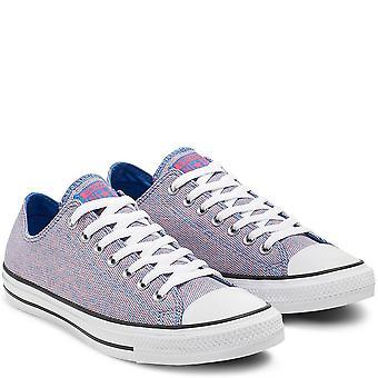 Converse Ctas Ox 164417C Blue Women'S Schoenen Laarzen