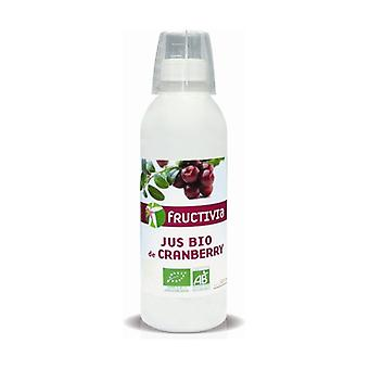 Organic cranberry juice 500 ml