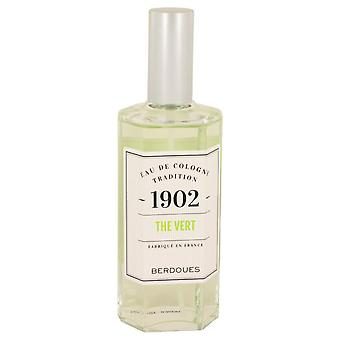 1902 Green Tea Eau De Cologne (Unisex unboxed) By Berdoues 4.2 oz Eau De Cologne