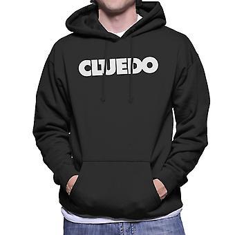 Hasbro Cluedo Text Logo Miesten's Huppari