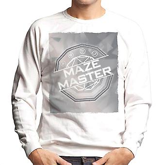 The Crystal Maze Silver Tone Men's Sweatshirt