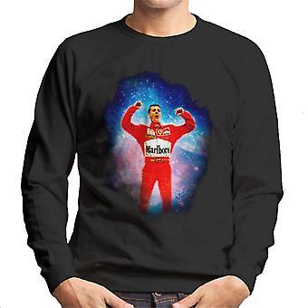 Imágenes del automovilismo Michael Schumacher Gran Premio Húngaro Ganar Men's Sudadera