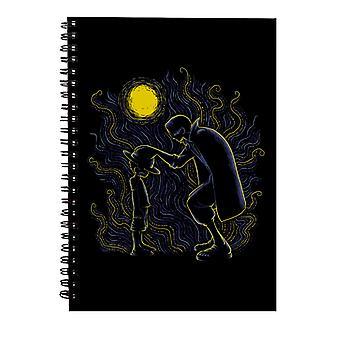 Impressionist Pirates Luffy And Shanks One Piece Spiral Notebook