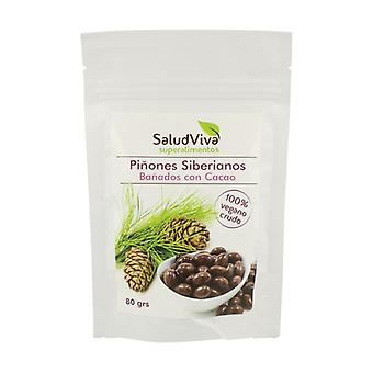 Siberian pine nuts covered with cocoa 80 g
