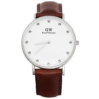 Reloj para mujer Daniel Wellington con correa de cuero 0960DW