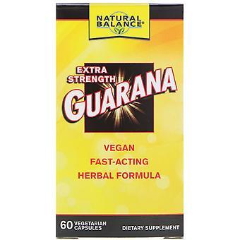 Natural Balance, Guarana, Extra Strength, 60 Vegetarian Capsules
