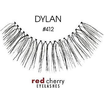 Red Cherry False Eyelashes - #412 Dylan - Perfect Curl Handmade Lashes