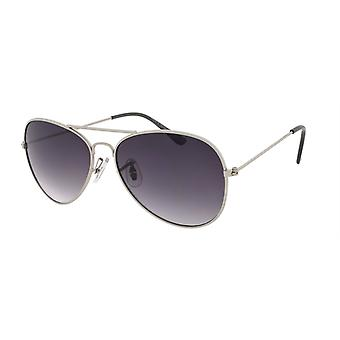 Sonnenbrille Unisex    Kat.2 grau lila/rauch (AMU19209 C)