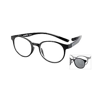 Reading Glasses Unisex Le-0190A Miami black thickness +1.50