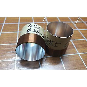 25.4mm، 2 طبقة لفائف الصوت لمكبرات الصوت