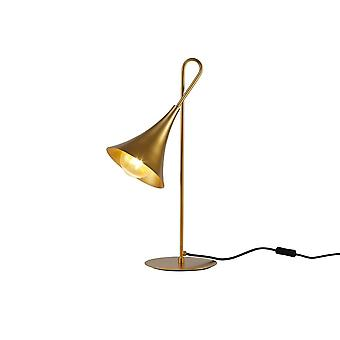 Inspired Mantra - Jazz - Table Task Lamp 58cm, 1 x E27 (Max 20W), Gold Painting