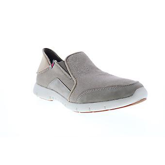 Sebago Kingsley Lite Slip Op Mens Brown Mesh Lifestyle Sneakers Schoenen