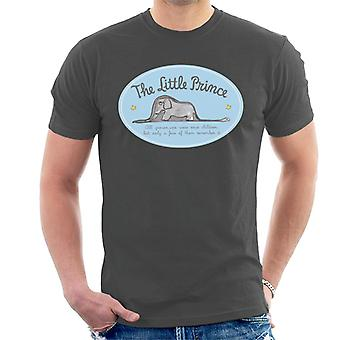 The Little Prince Elephant All Grown Ups Were Children Once Men's T-Shirt
