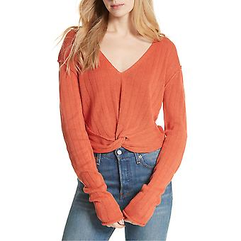 Free People | Got Me Twisted V-Neck Sweater