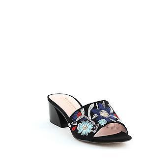 Avec Les Filles | Sloane Block-Heel Slides