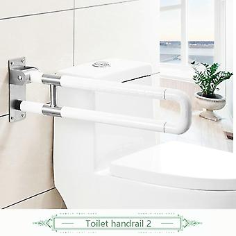Safety Stainless Steel Folding Grab Bar, Rail Support Handle Bar
