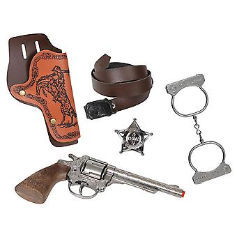 CAP GUN - 157/0 - Gonher Wild-West Set 8 Shots