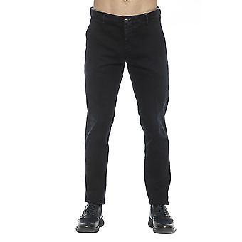 Men's Care Label Black Pants