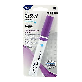 Almay One Coat Thickening Waterproof Mascara, Noir 421 - 2 Pack