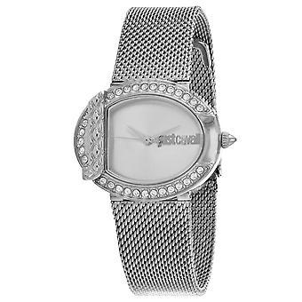 Just Cavalli Women's C Silver Dial Watch - JC1L110M0065