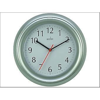 Acctim Wycombe Wall Clock Silver/ Grey 21417