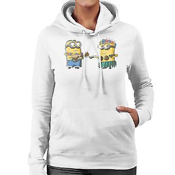 Despicable Me Minions Hula Women's Hooded Sweatshirt
