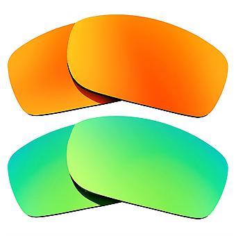 Polarized Replacement Lenses for Oakley Fives Squared Sunglasses Anti-Scratch Anti-Glare UV400 SeekOptics