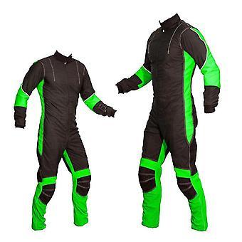 Freefly parachutisme costumes lime se-01