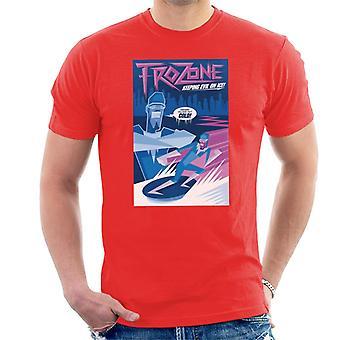 Pixar The Incredibles Frozone Holde Evil På Is menn's T-skjorte
