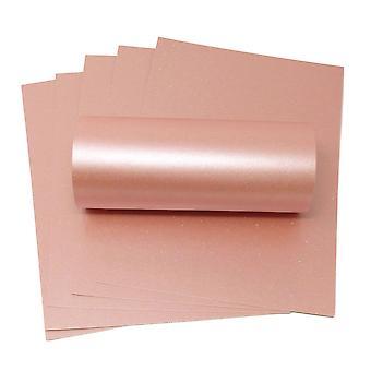 10 fogli di A4 Rosa Sparkle Card 300gsm