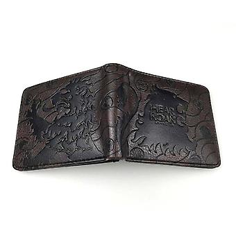 PU leather Coin Purse Cartoon anime wallet - Game of Thrones #269