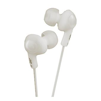 JVC Gummy HA-FX5-W - In-ear Earbuds - White