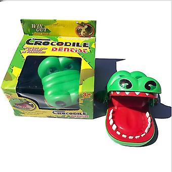 Big Crocodile Biting Finger Toy Shark Tooth Extraction Game Hand Biting Crocodile Parent-child Children's Tricky Toy