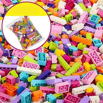 Building Blocks City - Diy Creative Bricks Bulk Model Figures Educational