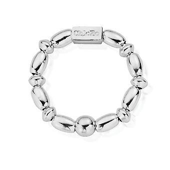 ChloBo SRMR3 Women's Mini رايس Ring (كبير)