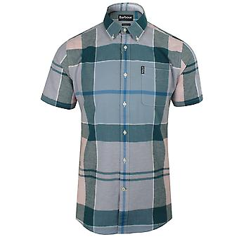 Barbour men's pink check douglas shirt