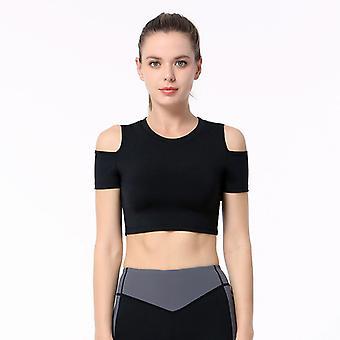 Naiset Slim Yoga Fitness Urheilu Top C23