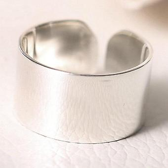 925 Sterling Silver Smooth Open Rings